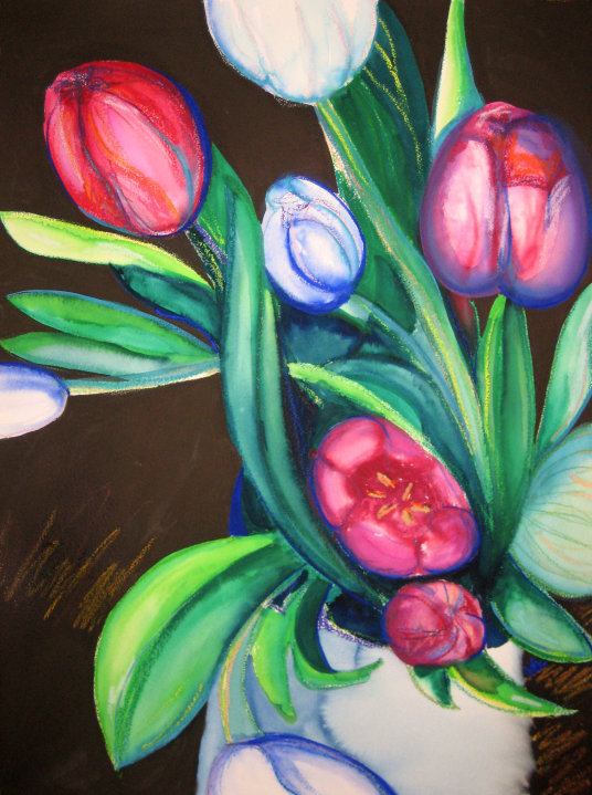 Tulips by Leah Gay