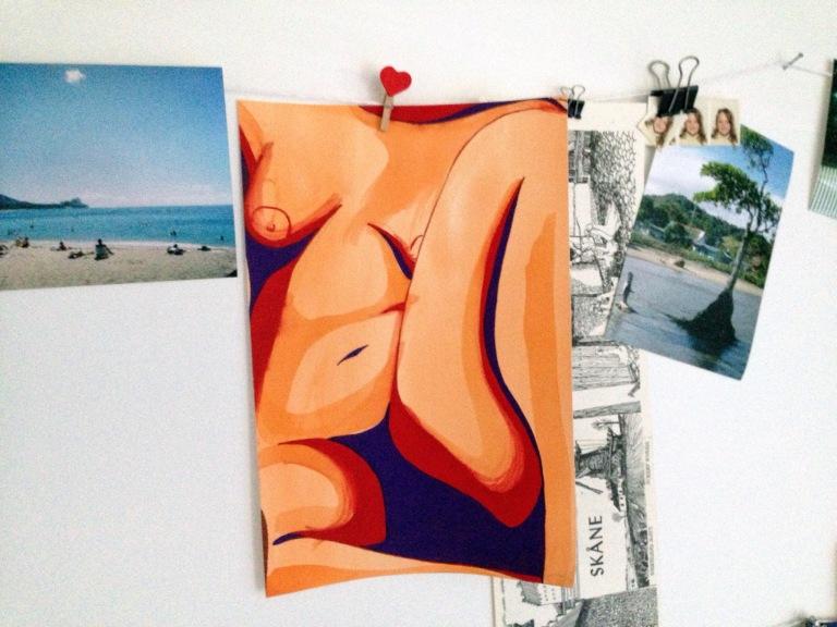 Nudy Study by Leah Gay