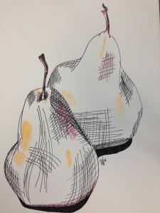 Pears (2014) by Leah Gay