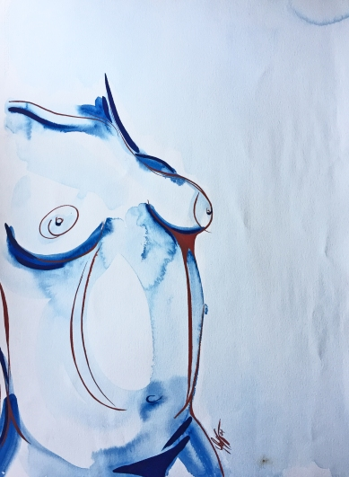 Blue Nude by Leah Gay 2004