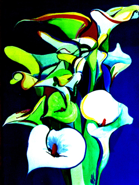 Bunch of Lillies by Leah Gay (2003)
