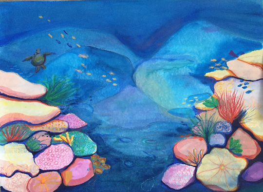 Mysteries of The Reef by Leah Gay 2017