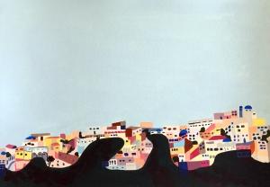 Santorini by Leah Gay