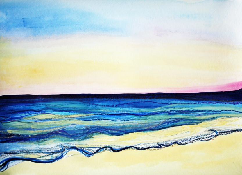 Sunset On The Gold Coast by Leah Gay 2017 Two