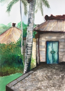 The Green Door by Leah Gay 2018