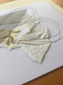 Machine Embroidered Gift Cards by Leah Gay