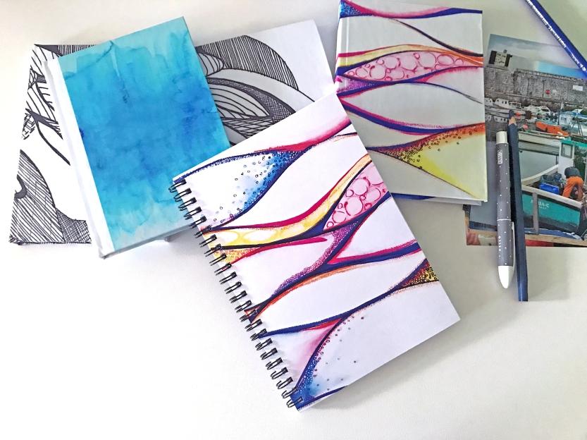 Rainbow Notebook In Situ July 2018