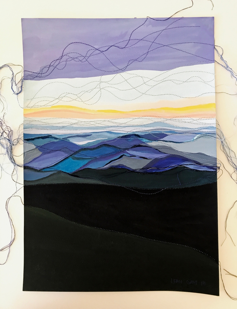 Wild Mountains by Leah Gay 2018