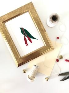 18.10.09 - Christmas Cards - Framed 3