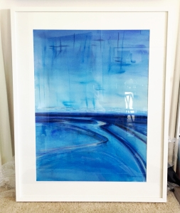 Ebb and Flow by Leah Gay Framed