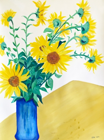 Sunflowers by Leah Gay 2019